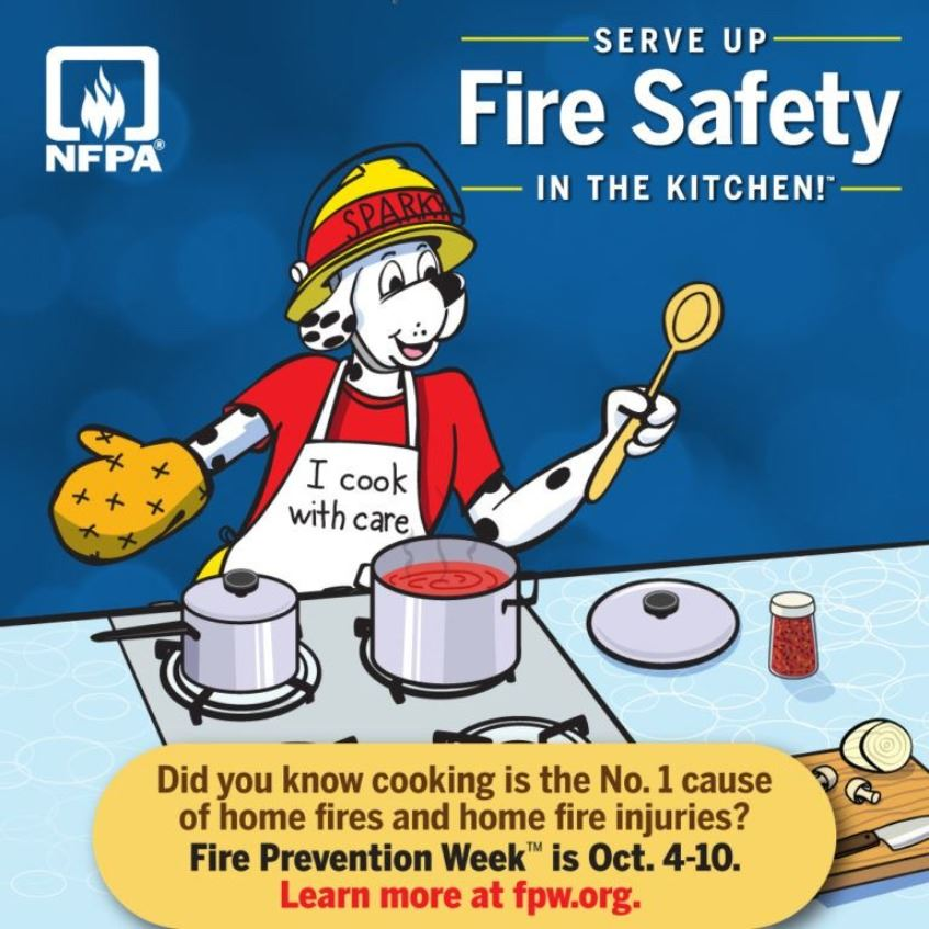 Fire Prevention Week Graphic 2020